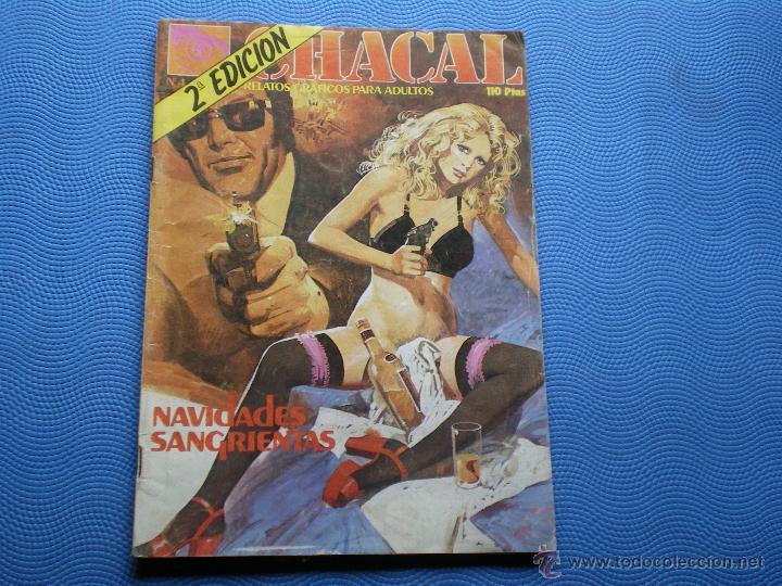 CHACAL NAVIDADES SANGRIENTES RELATOS GRAFICOS PARA AULTOS 2 EDICION 110 PTAS ZINCO PEPETO (Tebeos y Comics - Zinco - Otros)