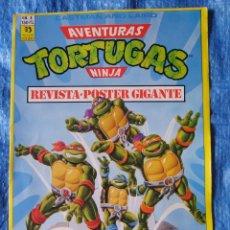 Cómics: TORTUGAS NINJA - REVISTA POSTER GIGANTE - NUM. 04 RAPHAEL (ZINCO 1991). Lote 49513469