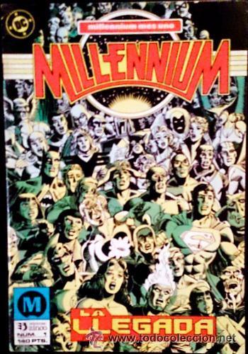 MILLENIUM Nº 1 / LA LLEGADA / DC / ZINCO 1988 (STEVE ENGLEART & JOE STANTON) (Tebeos y Comics - Zinco - Millenium)