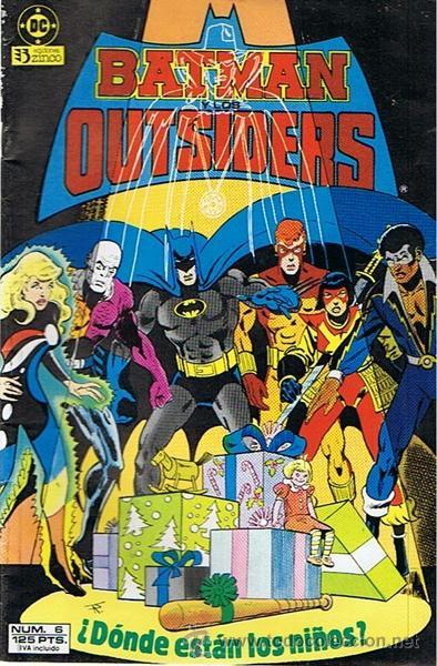 CÓMIC BATMAN OUTSIDERS Nº 6 (Tebeos y Comics - Zinco - Batman)