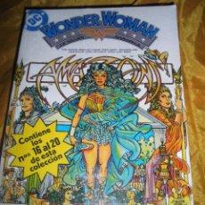 Cómics: WONDER WOMAN. TOMO 4. RETAPADO CON LOS Nº 16 AL 20. EDICIONES ZINCO. DC.. Lote 49640264