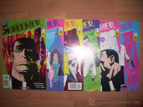 SKREEMER. [COMPLETA: 6 VOL.] / PETER MILLIGAN, BRETT EWINS, STEVE DILLON (Tebeos y Comics - Zinco - Otros)