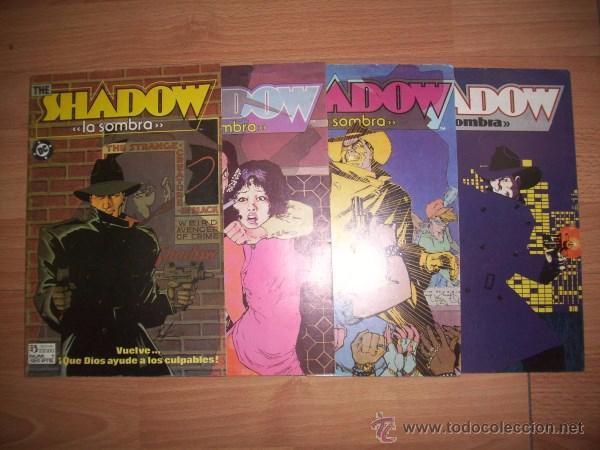 THE SHADOW = LA SOMBRA. [COMPLETA: 4 VOL.] / HOWARD CHAYKIN (Tebeos y Comics - Zinco - Otros)