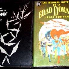 Cómics: LAS MEJORES HISTORIAS JAMÁS CONTADAS DE : BATMAN VOL.1 Y DE LA EDAD DORADA. OCASION. Lote 49593457