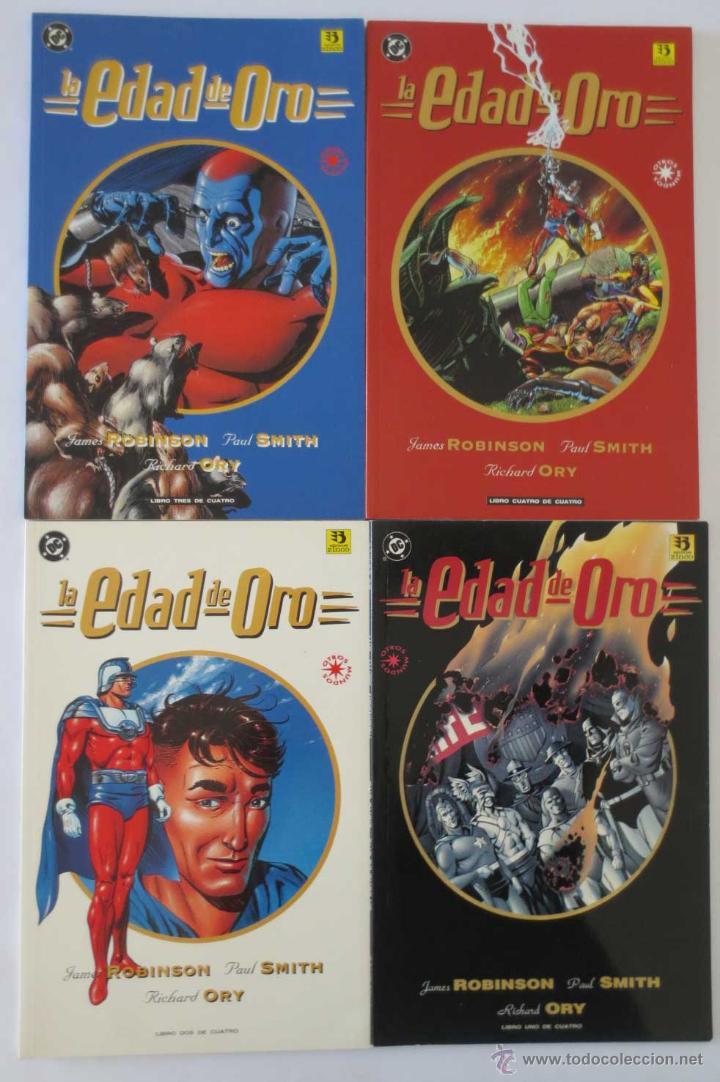 LA EDAD DE ORO COMPLETA (Tebeos y Comics - Zinco - Prestiges y Tomos)
