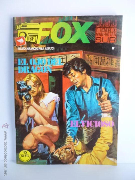 Cómics: LOTE 1, 2, 3, 4, 5, 6, FOX, EL HOMBRE DE MANHATTAN SUR , EDICIONES ZINCO 1987 - 1988 - Foto 2 - 196141113