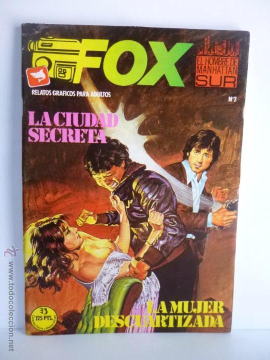 Cómics: LOTE 1, 2, 3, 4, 5, 6, FOX, EL HOMBRE DE MANHATTAN SUR , EDICIONES ZINCO 1987 - 1988 - Foto 4 - 196141113