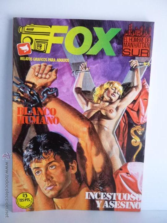 Cómics: LOTE 1, 2, 3, 4, 5, 6, FOX, EL HOMBRE DE MANHATTAN SUR , EDICIONES ZINCO 1987 - 1988 - Foto 6 - 196141113