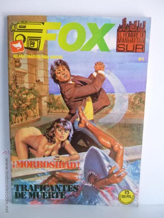Cómics: LOTE 1, 2, 3, 4, 5, 6, FOX, EL HOMBRE DE MANHATTAN SUR , EDICIONES ZINCO 1987 - 1988 - Foto 8 - 196141113