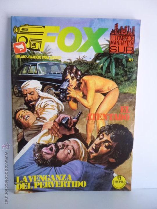 Cómics: LOTE 1, 2, 3, 4, 5, 6, FOX, EL HOMBRE DE MANHATTAN SUR , EDICIONES ZINCO 1987 - 1988 - Foto 10 - 196141113