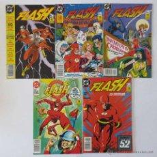 Cómics: FLASH 1 AL 5 COMPLETA ZINCO. Lote 70470783