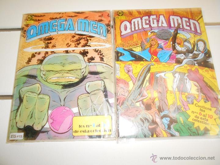 OMEGA MEN ( RETAPADOS NºS 1 AL 10) (Tebeos y Comics - Zinco - Retapados)