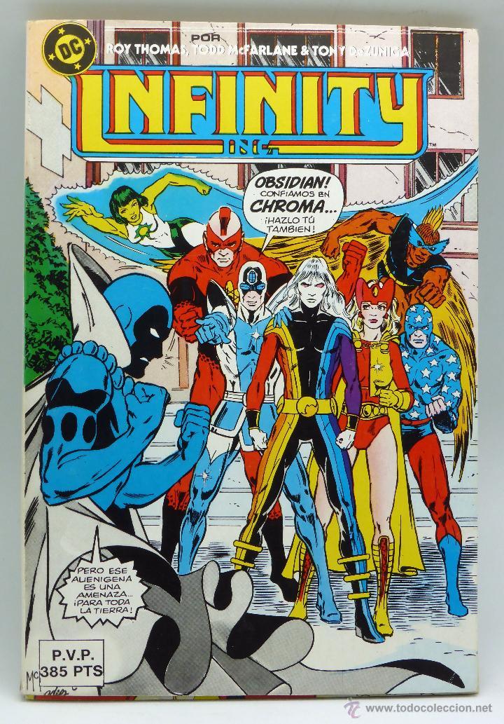 INFINITY Nº 11 DC ZINCO 1986 (Tebeos y Comics - Zinco - Infinity Inc)
