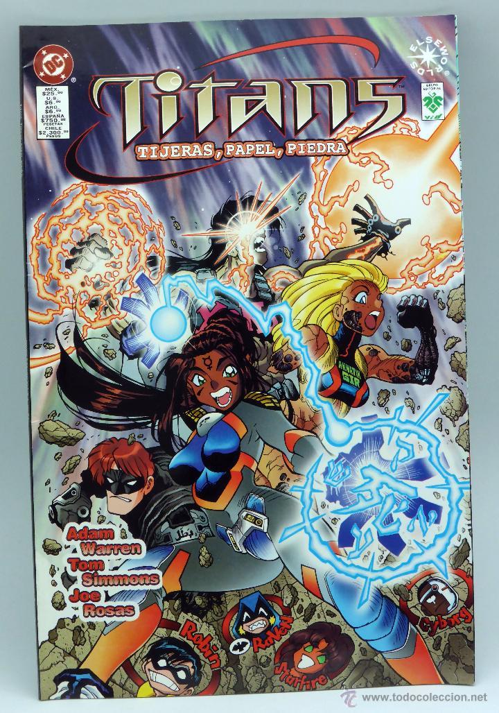 TITANS DC TIJERAS PIEDRA PAPEL ZINCO 1997 (Tebeos y Comics - Zinco - Nuevos Titanes)