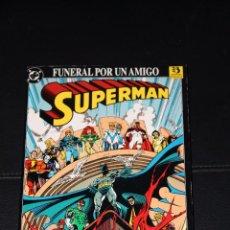 Cómics: SUPERMAN FUNERAL POR UN AMIGO ZINCO. Lote 253749600