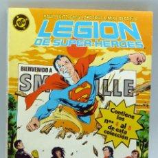 Comics : LEGIÓN DE SUPERHÉROES Nº 4 AL 7 FALTA EL 8 ZINCO 1987 . Lote 50233350