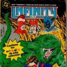 Cómics: INFINITY INC., 5 (Nº DEL 19 AL 22) ROY THOMAS, TODD MCFARLANE, MIKE CLARK. DC, EDICIONES ZINCO, 1986. Lote 50292024