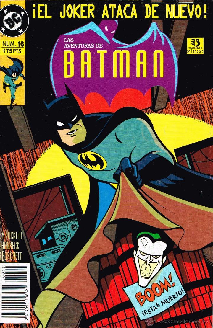 LAS AVENTURAS DE BATMAN (EXITO TV). 16.EDICIONES ZINCO. (Tebeos y Comics - Zinco - Batman)