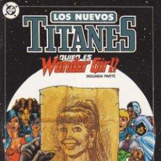 Cómics: COMIC COLECCION NUEVOS TITANES Nº 11. Lote 50451170