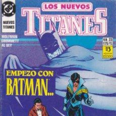 Cómics: COMIC COLECCION NUEVOS TITANES Nº 23. Lote 50451188
