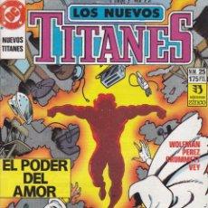 Cómics: COMIC COLECCION NUEVOS TITANES Nº 25. Lote 50451196