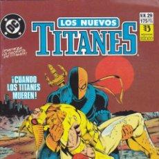 Cómics: COMIC COLECCION NUEVOS TITANES Nº 29. Lote 50451209