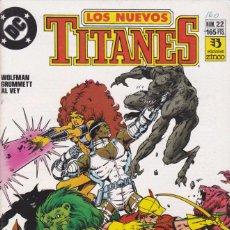 Cómics: COMIC COLECCION NUEVOS TITANES Nº 22. Lote 50451275
