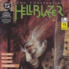 Cómics: COMIC COLECCION HELLBLAZER Nº 1. Lote 50451679