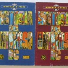 Cómics: HISTORIA DEL UNIVERSO DC COMPLETA. Lote 50482751
