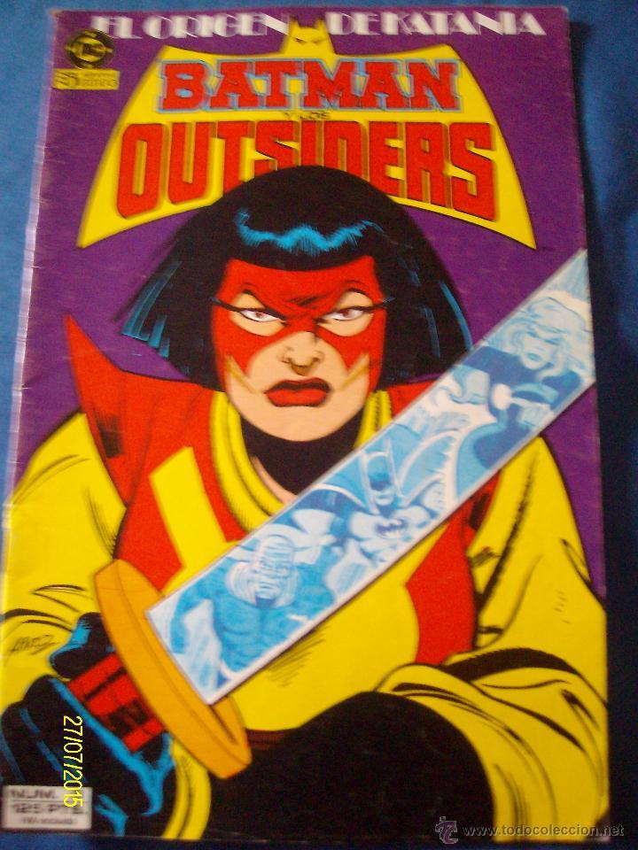 BATMAN Y LOS OUTSIDERS Nº 8 EL ORIGEN DE KATANA (Tebeos y Comics - Zinco - Outsider)