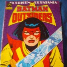 Cómics: BATMAN Y LOS OUTSIDERS Nº 8 EL ORIGEN DE KATANA. Lote 50491261