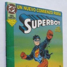 Cómics: SUPERBOY UN NUEVO COMIENZO. Lote 50559707