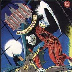 Cómics: BATMAN : CÍRCULO MORTAL DE ALAN DAVIS & MIKE W. BARR . ( ZINCO, S. A., 1992). Lote 50571862