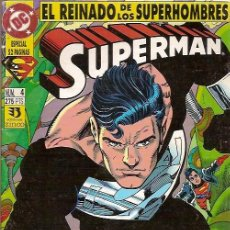 Cómics: EL REINADO DE LOS SUPERHOMBRES SUPERMAN Nº 4 EDICIONES ZINCO. Lote 50579028