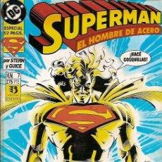 Cómics: SUPERMAN EL HOMBRE DE ACERO Nº 7 STERN GUICE EDICIONES ZINCO. Lote 50579090