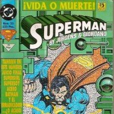 Cómics: SUPERMAN VIDA O MUERTE Nº 25 JURGENS & GIORDANO EDICIONES ZINCO. Lote 50579131