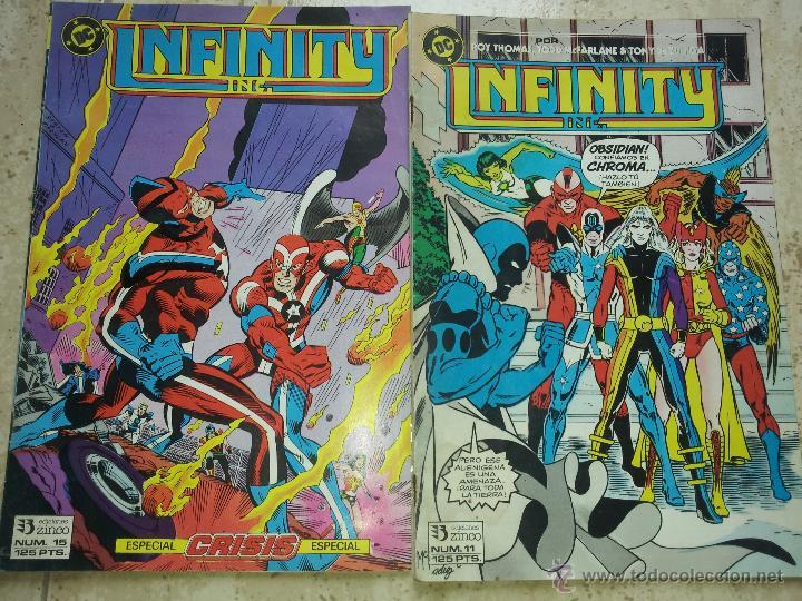 2 REVISTA INFINITY DE ZINCO (Tebeos y Comics - Zinco - Infinity Inc)