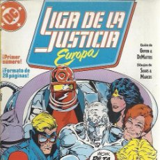 Cómics: LIGA DE LA JUSTICIA EUROPA ( ZINCO ) ORIGINAL 1988-1992 LOTE. Lote 50950174