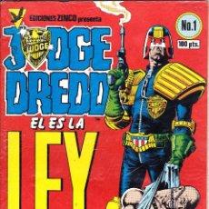 Cómics: JUDGE DREDD DE ZINCO. 6 NUMEROS. Lote 51068190