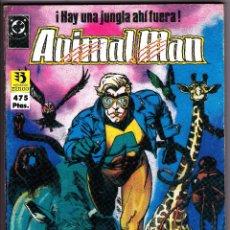 Cómics: ANIMAL MAN. 2 RETAPADOS CON LOS NUMEROS 1 AL 10. Lote 51068858