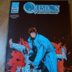 Cómics: QUESTION #17 (ZINCO, 1990). Lote 51101877