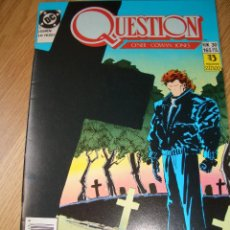 Cómics: QUESTION #30 (ZINCO, 1991). Lote 51102306