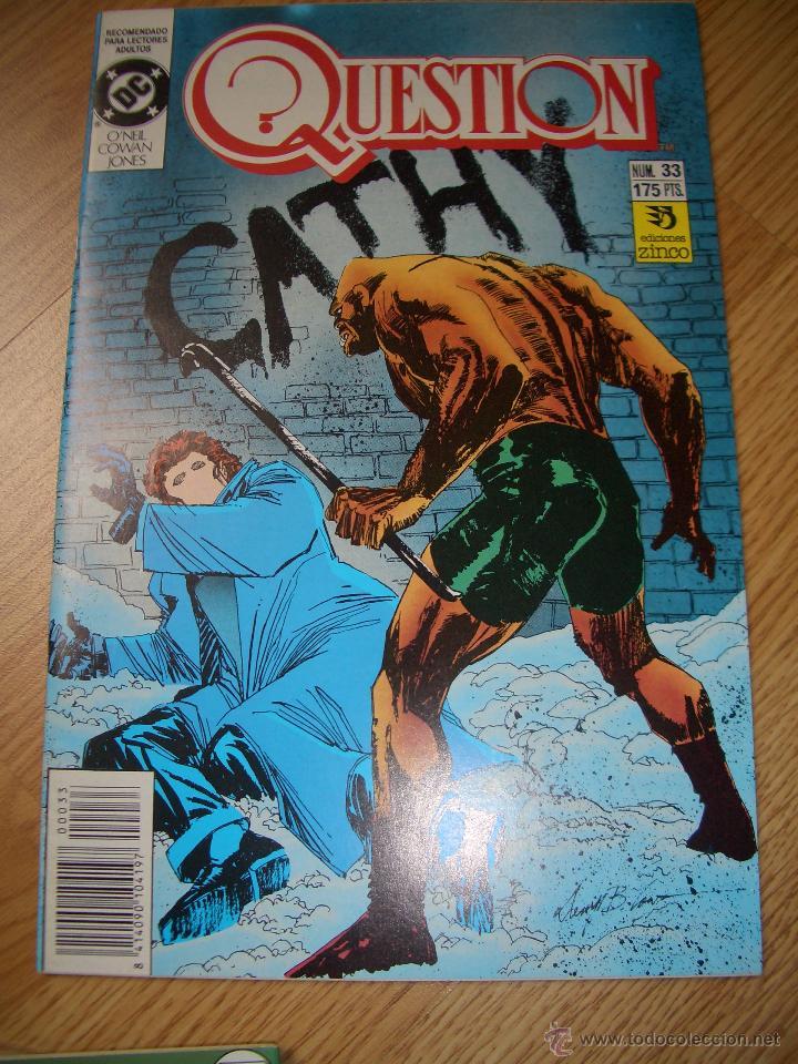 QUESTION #33 (ZINCO, 1991) (Tebeos y Comics - Zinco - Question)