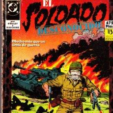 Cómics: EL SOLDADO DESCONOCIDO. 1 AL 10 COMPLETA EN DOS RETAPADOS. Lote 51148927