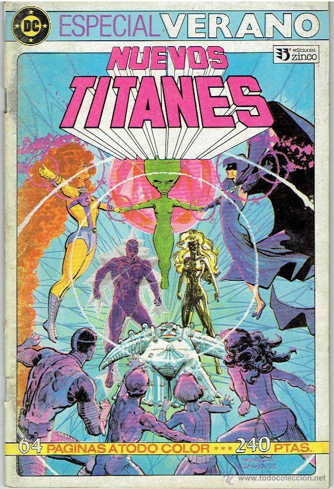 NUEVOS TITANES Nº 36 (Tebeos y Comics - Zinco - Nuevos Titanes)