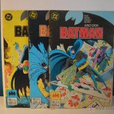 Cómics: LOTE BATMAN 7-8-12 - ZINCO - DC MARVEL - BAT MAN - 1986. Lote 51532416