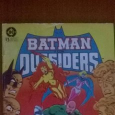 Cómics: BATMAN Y LOS OUTSIDERS Nº 7 ** DC * ZINCO. Lote 51611124