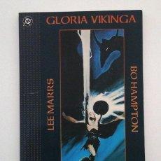 Cómics: GLORIA VIKINGA, EL PRINCIPE VIKINGO; DC-ZINCO, DE LEE MARRS Y BO HAMPTON; FORMATO PRESTIGE. Lote 52150373