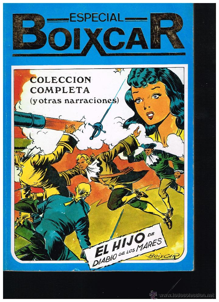ESPECIAL BOIXCAR.COLECCIÓN COMPLETA,EL HIJO DEL DIABLO DE LOS MARES.EDICIONES URSUS. (Tebeos y Comics - Zinco - Retapados)