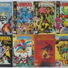Cómics: LEGION DE SUPER HEROES COMPLETA ZINCO. Lote 52391092